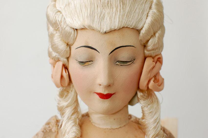 редкая будуарная кукла Rosalinde