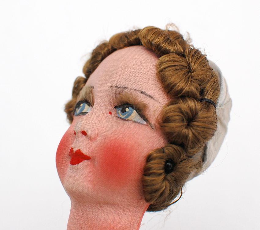 ремонт текстильной кукольной головы