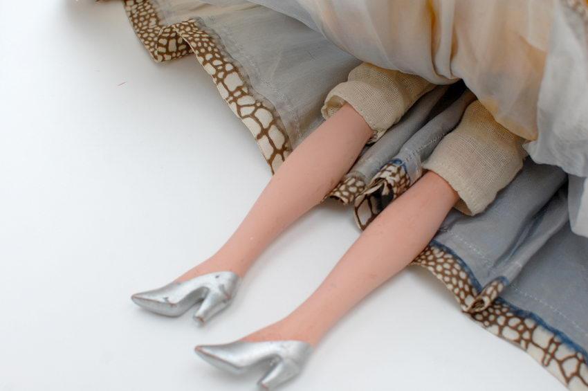 ноги будуарной куклы