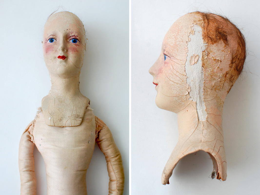 композитная будуарная кукла Anita