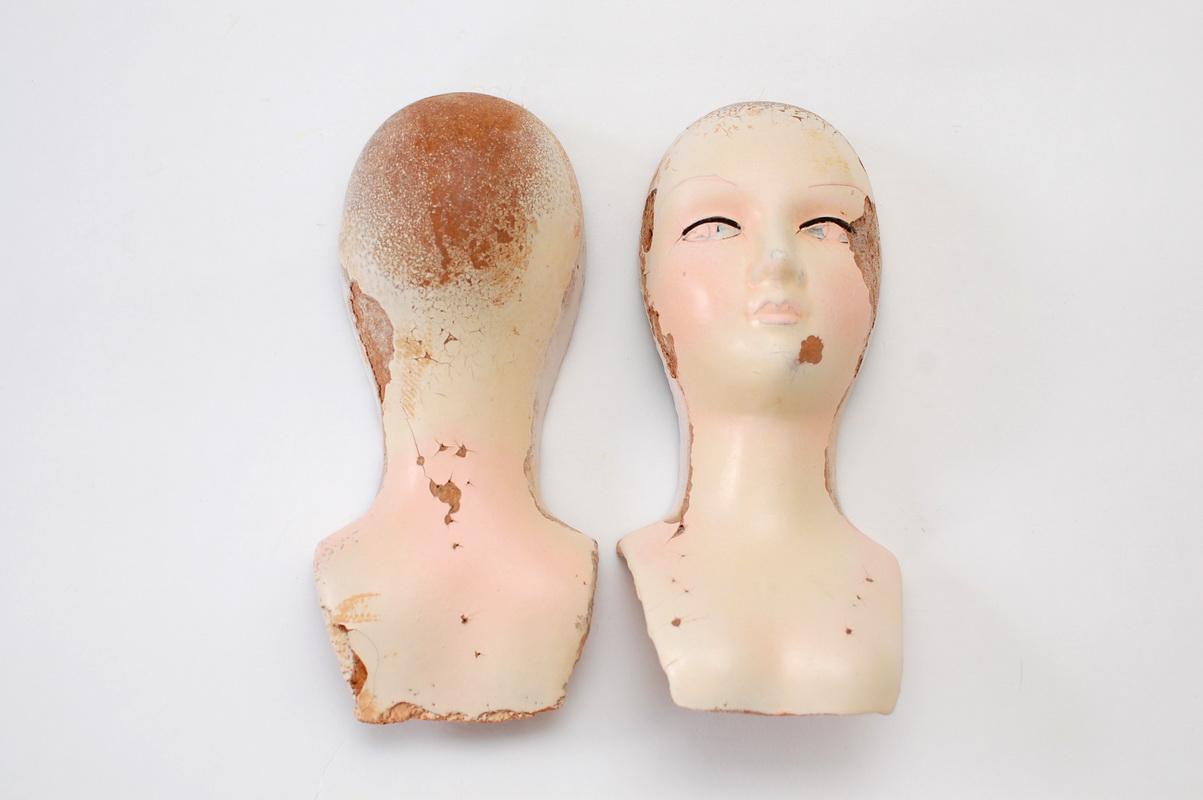 прессопилочная голова будуарной куклы