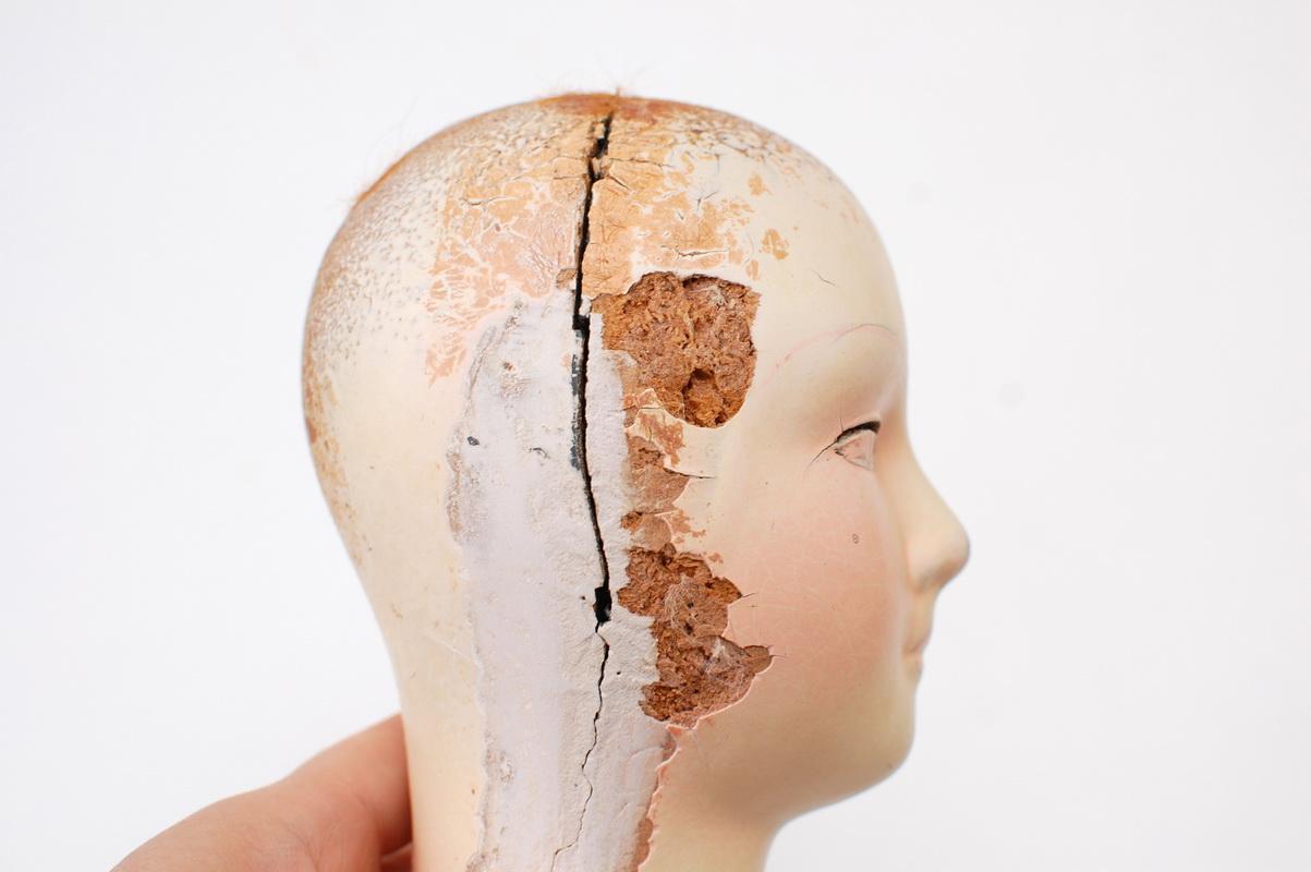 голова из пресопилок