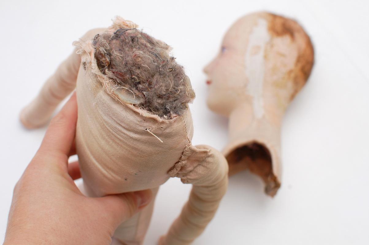 набивка тела будуарной куклы